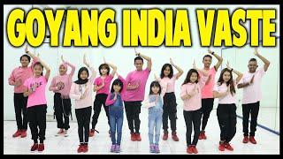 Download GOYANG VAASTE INDIA DANCE - FULL TEAM - CHOREOGRAPHY BY DIEGO TAKUPAZ - SIUL TIK TOK - DJ DESA