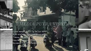 Ledakan tabung Gas Elpiji di Kios Bakso,  Yang berlokasi di Kp. Tukang kajang - Tangerang (06/06/19)