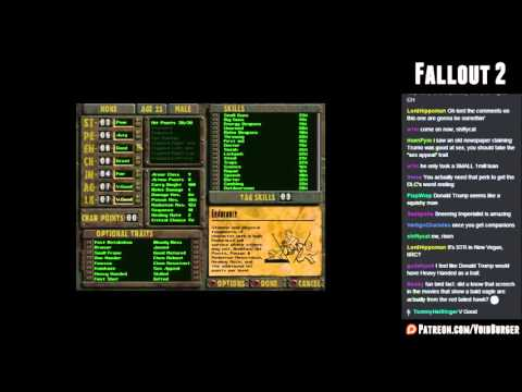 Let's Stream Fallout 2 01