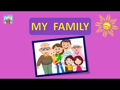 Английский для детей семья видео уроки