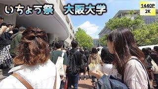 大阪大学2019年度いちょう祭をお散歩