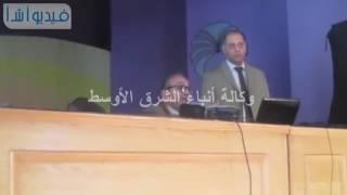 بالفيديو: الندوة العلمية الأولى لأكاديمية البحث العلمى فى جامعة العريش