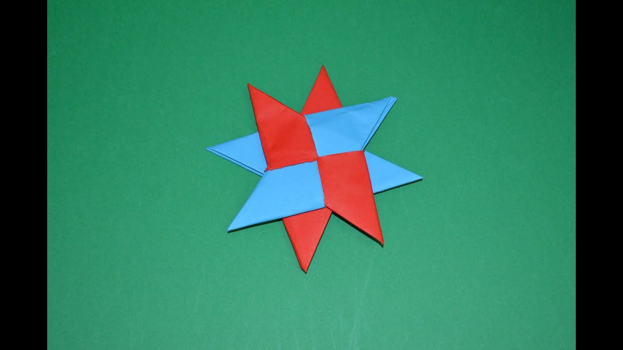 Help with paper ninja star double