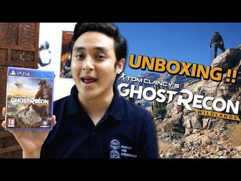 Ghost Recon Wildlands (PS4) Standard Edition Unboxing - Hindi Gaming!!