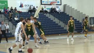 Dylan Kaufman from Anthony Brienza plus the foul
