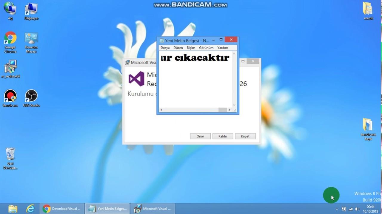 Visual C++ Redistributable Tam Paket - Otomatik Kurulum 2021