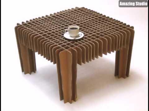 futuristischer Holzstuhl von Joseph Walsh