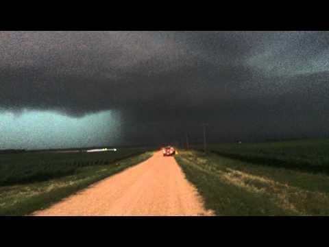 Tornado Sterling - Sublette, Illinois 6/22/15 - Super Cell