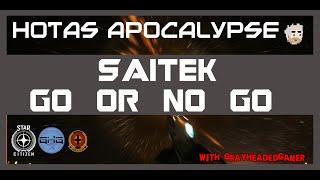 HOTAS apocalypse? I