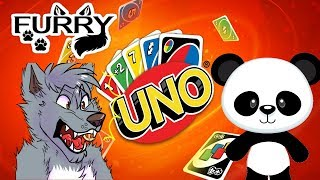PANPAN IS RUTHLESS (Furry Uno Funny Moments)