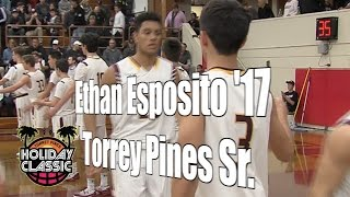 Ethan Esposito '17, Torrey Pines Senior Year, 2016 UA Holiday Classic