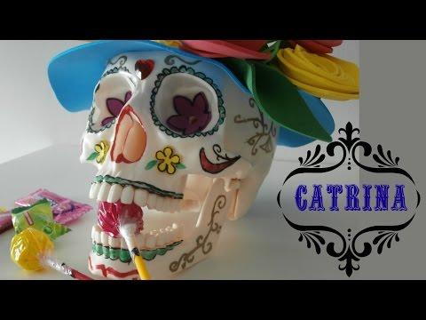 Cómo Hacer Una Catrina Mexicana Youtube