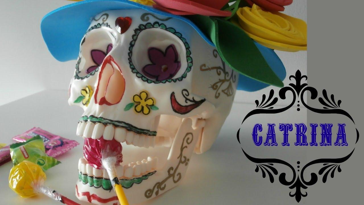 Cómo Hacer Una Catrina Mexicana