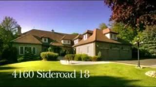 Real Estate Video Tour - 4160 Sideroad 18, Pottageville, Ontario (v2)