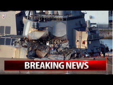 BREAKING:USS Fitzgerald crash: Sailors found dead after Japan collision