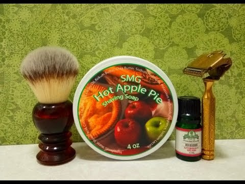 Gem, SMG Hot Apple Pie and Stirling Red Delicious aftershave
