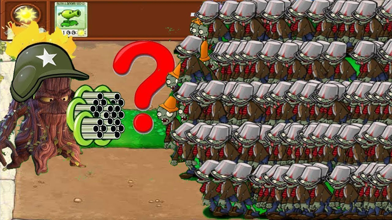 Download Plants vs Zombies Hak - Cactus vs 9999 Conehead Zombie vs Dr. Zomboss