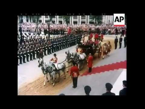 The Prince of Wales Arrives - The Wedding of Charles, Prince of Wales and Lady Diana Spencer (1981).