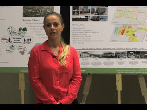"""Restorative Urban Design"" by Jessica Haren, UCLA Extension Landscape Architecture Thesis"