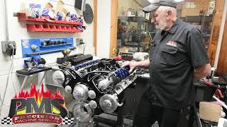 Oldsmobile 350 Rocket Engine Build