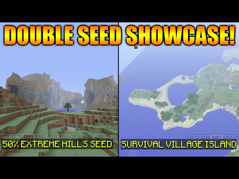 Great Seed: 6 Villages, 2 Jungle Temples, 1 Desert Temple ...