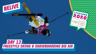 LIVE - Freestyle Skiing & Snowboarding Big Air - Day 13   Lausanne 2020