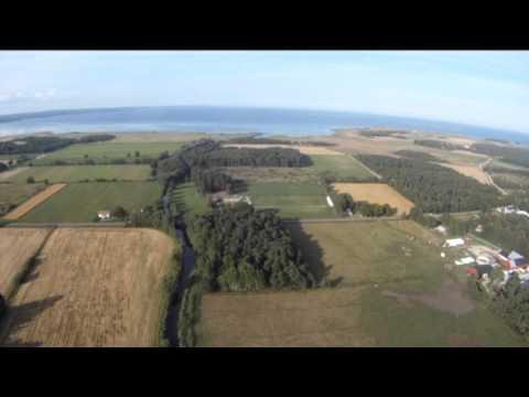 Paramotorflygning Ganvide farm i När