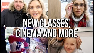 BUYING NEW GLASSES, A TRIP TO THE CINEMA  AND MY DREAM CHRISTMAS PRESENT