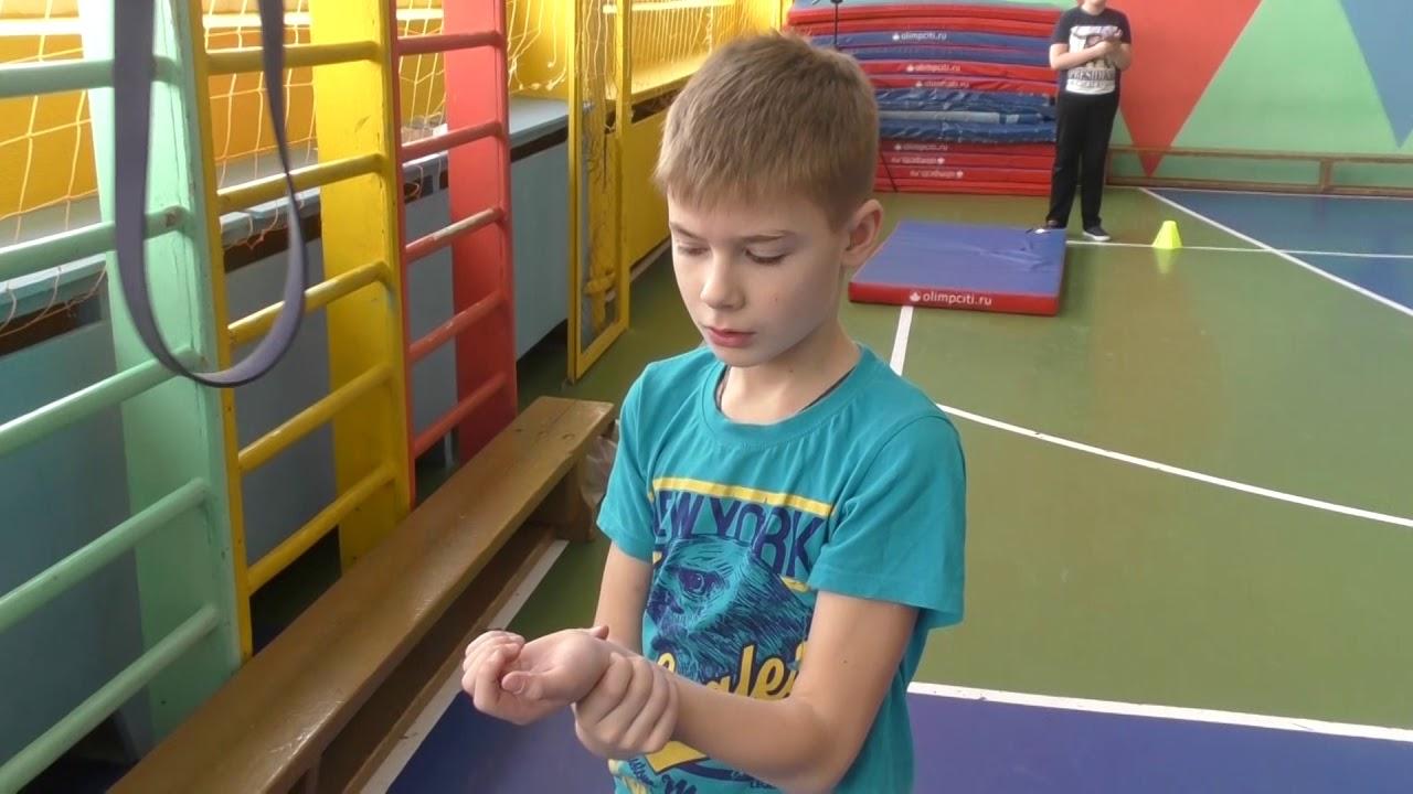 Открытый урок по физической культуре в 5 классе. Круговая тренировка