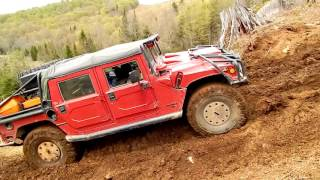 EXTREME 4x4 OFF ROAD - Hummer H1 vs Mud Hill - ROUND #1