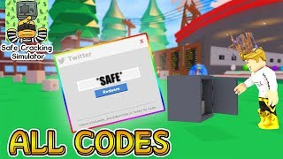 [ALL CODES]💰Safe Cracking Simulator Best Codes | Roblox