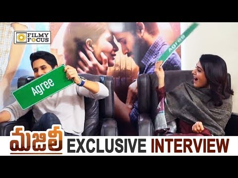 Samantha VS Naga Chaitanya : Agree and Disagree with Naga Chaitanya and Samantha    Majili Movie