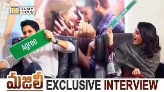 Samantha VS Naga Chaitanya : Agree and Disagree with Naga Chaitanya and Samantha || Majili Movie