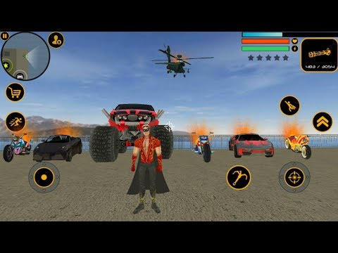► Angry Naxeex Superhero destroying Own Car (Naxeex LLC) Best GTA Open World Crime Simulator