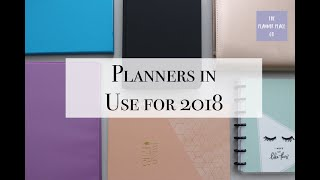 My Planners for 2018