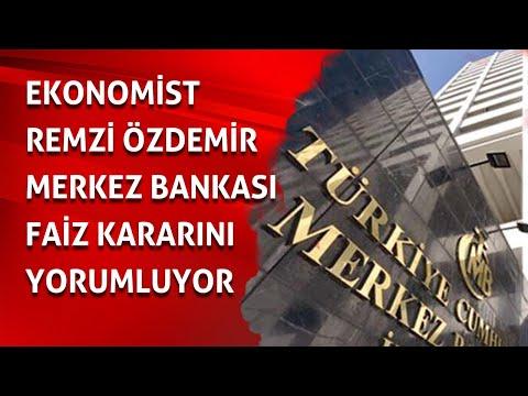 Merkez Bankası Faiz kararını verdi! İlk Yorumlar /Remzi Özdemir / Faiz /Enflasyon rakamları