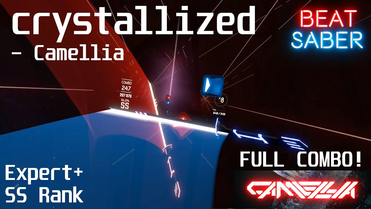 Download I finally did it!   crystallized - Camellia   Expert+   Full Combo!   Multiplayer Stream Highlight
