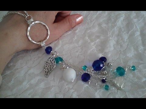 collares artesanales collares largos de moda collares modernos bisuteria paso a paso gratis , YouTube