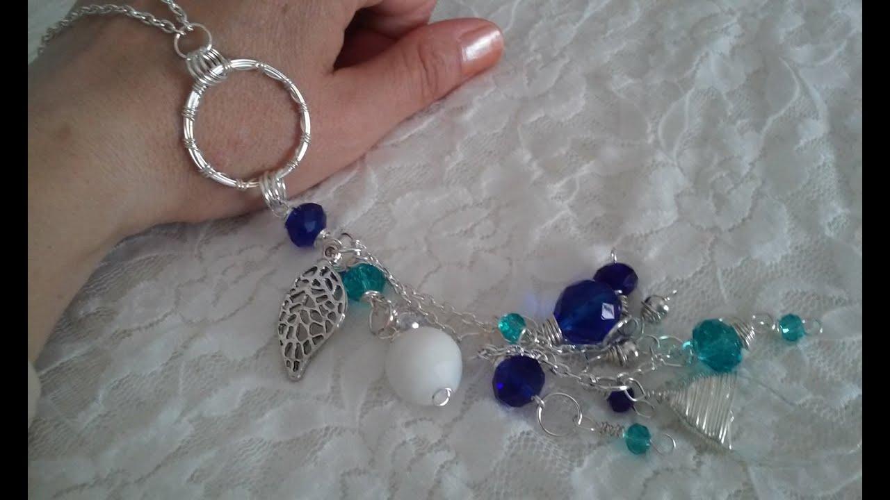 collares artesanales collares largos de moda collares modernos bisuteria paso a paso gratis