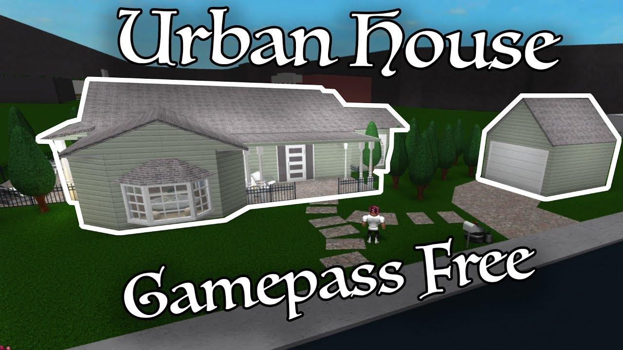 Urban House Gamepass Free Roblox Bloxburg 81k