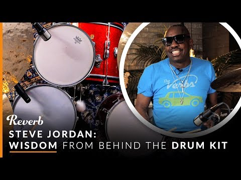 "Steve Jordan On Jamming With John Mayer, How Not To Play ""Soul Man,"" And More Drum Wisdom 