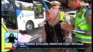 Tak Terima Ditilang, Pengendara Wanita Ngamuk Hingga Mencubit Polisi - SIS 08/01