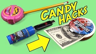Don't Throw Away Your Candy (Recycle It) 5 Candy Life Hacks You Must Know
