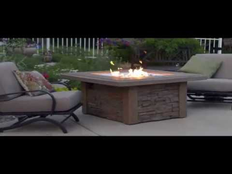 Sierra Gas Fire Pit Table by The Outdoor Greatroom Company