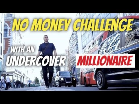 Undercover Millionaire Starts Again from Scratch - Getting a House With No Money!