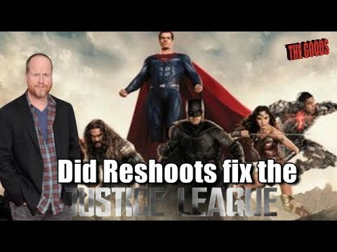 The Goods Podcast: Did Reshoots fix the Unwatchable Justice League Film