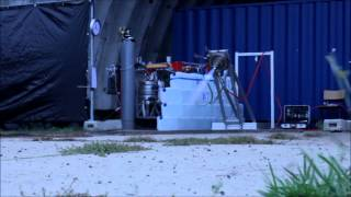 Rocket Engine Test with 400 N of Thrust September 24th
