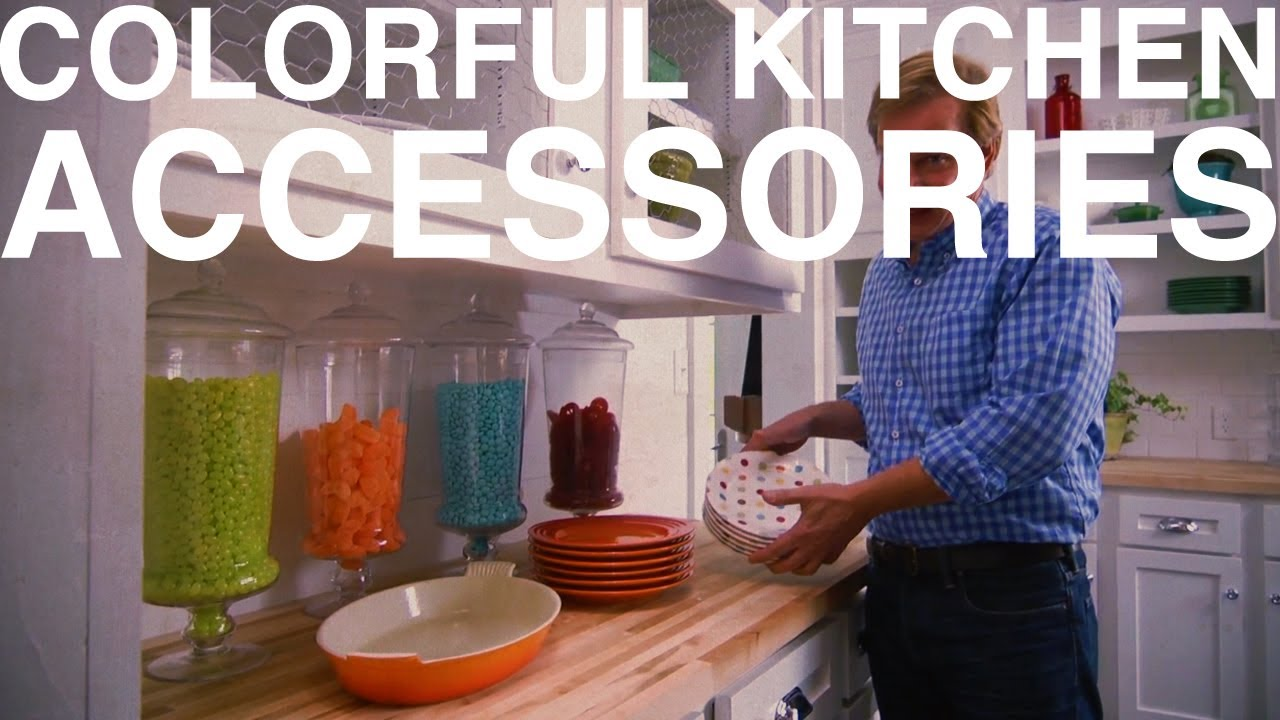Colorful Kitchen Accessories The Garden Home Challenge With P Allen Smith Youtube