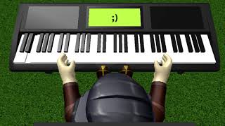 "ROBLOX VIRTUAL PIANO - France Logique - ""Changements"""