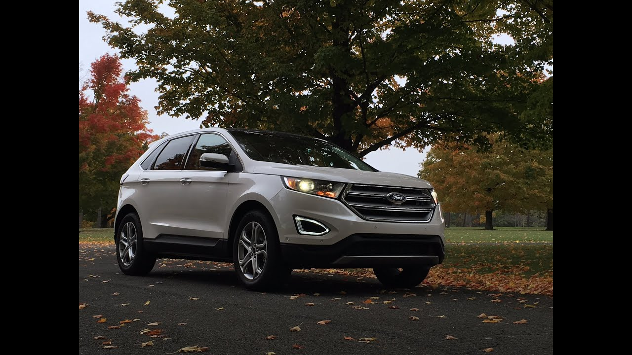 Ford edge titanium 2016 review testdrivenow